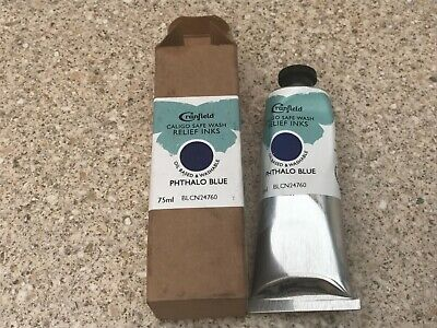 Car field Relief Ink PHTHALOBLUE 75ml New & Boxed