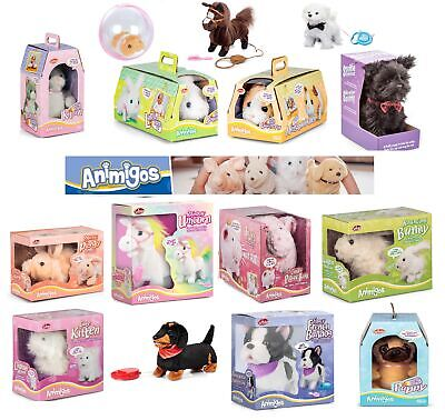 Animigos Range Fun Kids Interactive Toys Gift Electronic Pet Soft Cuddly Magical