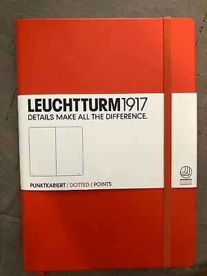 Leuchtturm1917 - Dotted Journal / Notebook - Medium A5 - Orange