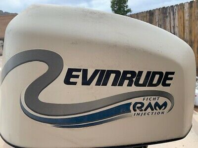 EVINRUDE FICHT RAM Injection 150hp Engine Hood Cowl #2