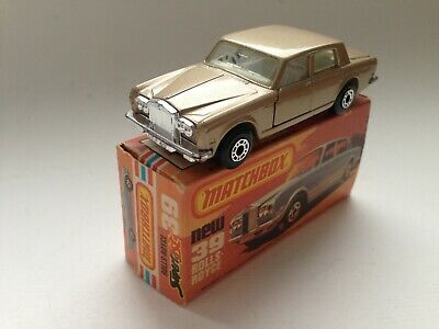 Matchbox Superfast No.39 Rolls Royce Silver Shadow II 1979 England mit OVP