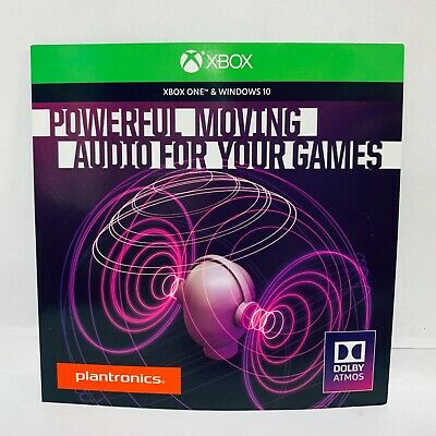 Plantronics Dolby Atmos [Code Only] Access Lets You Experience for Xbox & Win 10