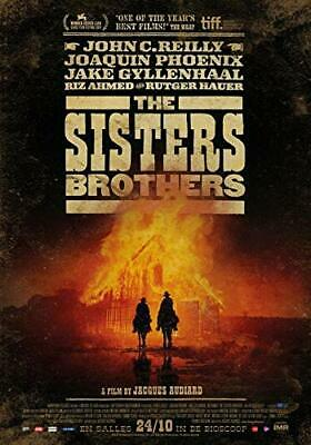 THE SISTERS BROTHERS (John C Reilly) BLU RAY - Sealed Region B for UK