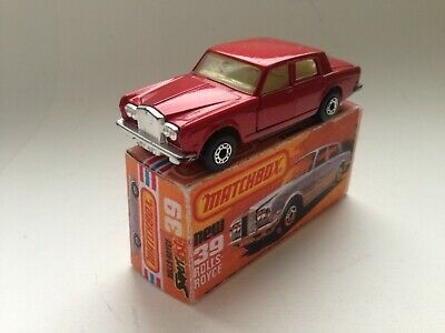 Matchbox Superfast No.39 Rolls Royce Silver Shadow II 1979 England mit Repro Box
