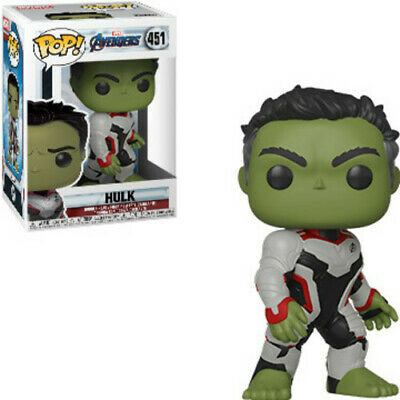 Avengers Endgame - Hulk - Funko Pop! Marvel: (2019, Toy NUEVO)