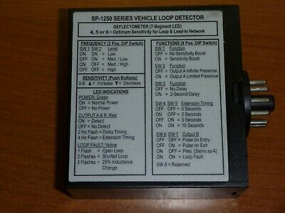 Base LD-200-HV Loop Detector for Detection of Vehicles Inductive Deflecto Meter