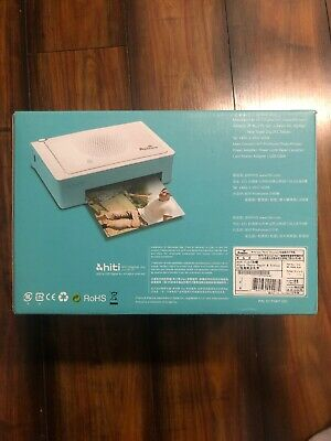 Hiti Prinhome Wireless Photo Printer 300 dpi Built-In Wifi iOS 6.0 Android 4.1+