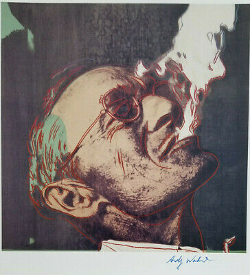 Andy Warhol 1984 Hermann Hesse Hand Signed High Quality Print + No Reserve !!