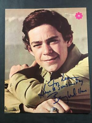 Barry Williams Brady Bunch Autographed Authentic Signed Signature TV Photo A246