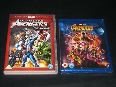 Ultimate Avengers The Movie with free Avengers Infinity War Blu-ray