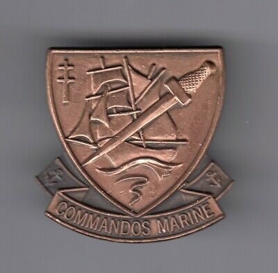 Rare Pins Pin's .. Armee Army Marine D-Day Commando Plongeur Kieffer Big 3D ~Ej