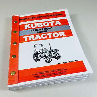 Enjoyable Kubota L2850 L1 Series Tractor V1702 Engine Service Manual Repair Wiring Digital Resources Arguphilshebarightsorg