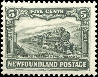 Mint Canada Newfoundland 1929-1931 5c Scott #167 Stamp Never Hinged