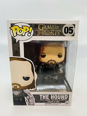 Funko Pop Game of Thrones The Hound #05 Vaulted Rare
