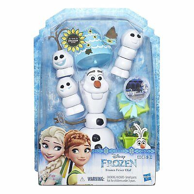 Disney Frozen Fever Olaf Doll Ages 3+ New Toy Girls Gift Play Elsa Anna House