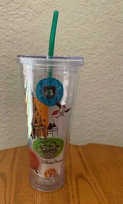 Starbucks Disney Parks Large Venti 24oz Acrylic Tumbler WDW Cold Cup