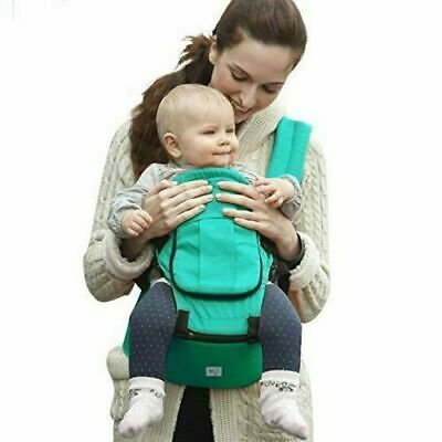 BabySteps Ergonomic Baby Carrier with Hip Seat for All Seasons in Teal