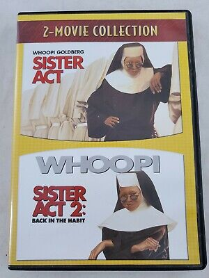Sister Act / Sister Act 2: Back in the Habit (DVD, 2007, 2-Disc) Whoopi Goldberg