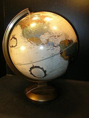 REPLOGLE 12 Inch PLATINUM CLASSIC Series GLOBE .. Raised Relief w/ Stand
