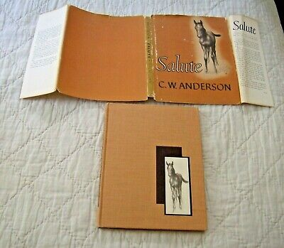 C.W.ANDERSON hcDJ 1st/1st 1940 SALUTE horse not ex-library VG/jacket fair