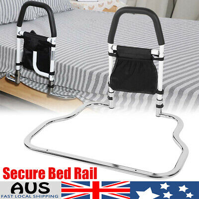 Secure Bed Rail Bedroom Safety Fall Prevention Aid Handrail for Pregnant AU 1PC