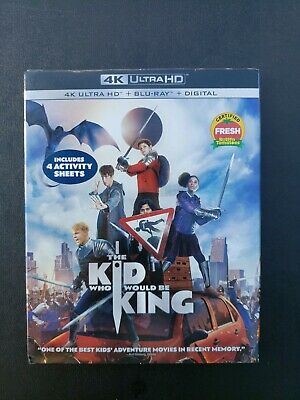 The Kid Who Would Be King 4K Blu-ray Digital Slipcover Brand New Factory Sealed
