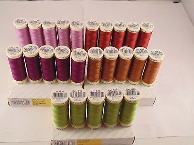 Gutermann Sew-All 100m Polyester Thread Choose your own colour Pack of 5