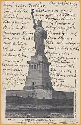 New York, N.Y., Statue of Liberty - 1903