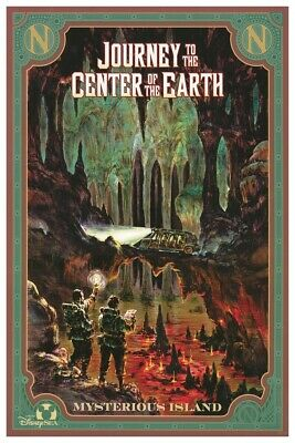 Tokyo Disney Journey To Center Of Earth - Collector Poster 4Sizes  (B2G1 Free!!)