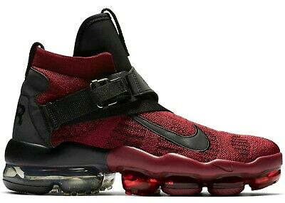 Nike Air VaporMax Premier Flyknit Gym Team Red AO3241-600 Sz 11 Retail $225