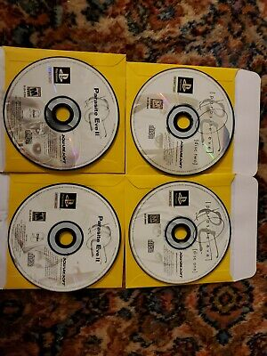 Parasite Eve and parasite Eve ii Discs Only PS1 Sony Playstation great shape