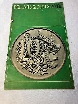 Dollars & Cents & You Official Guide to Decimal Currency  1966