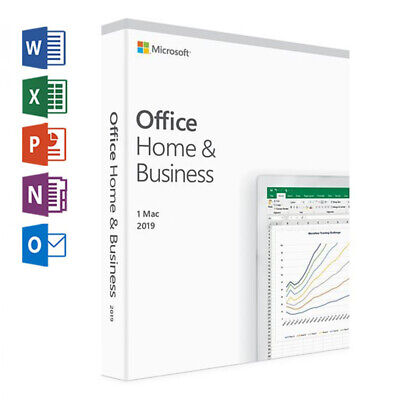⭐️ Microsoft Office Home and Business 2019 pour Mac | 100% Genuine | Lifetime ⭐️
