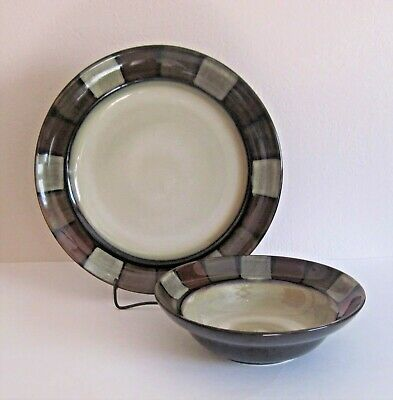 Pfaltzgraff Taos Dinner Plate & Soup or Cereal Bowl
