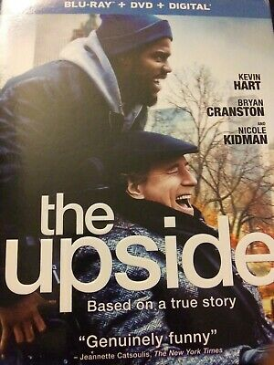 The Upside (Blu-ray and DVD, 2019) Kevin Hart, Bryan Cranston - No Digital