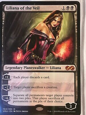 Ultimate Masters Liliana Of The Veil Planeswalker Magic The Gathering
