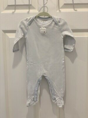 7269ced43 Burts Bees Baby 100% Organic Cotton 3-6 Month Footed Sleep Play One Piece