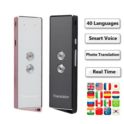 Portable X9 Instant Smart Voice Translator 2.4G Wireless Bluetooth 40 Languages