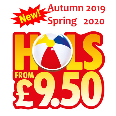 Sun Holidays £9.50 2019/2020 New Online Booking Codes ALL 10 Sun Token Codewords