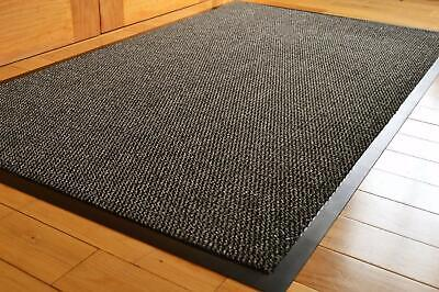 Grey Barrier Mat Kitchen Hall Dirt Trapper Entrance Doormat Showroom Matting