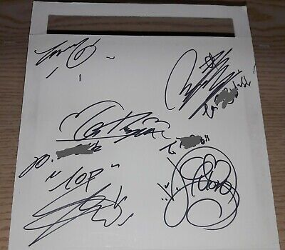 Bigbang Always 2007 Bigbang Mini Album K-Pop Real Signed Autographed Cd