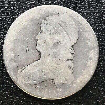 1808 Capped Bust Half Dollar 50c Circulated #16929