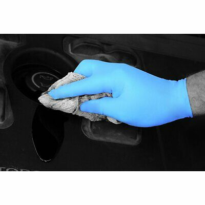 GD19 Blue Nitrile Powder Free Gloves - Small - Case 1000