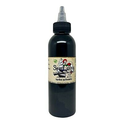 Sailor Jerry Tattoofarbe Turbo Schwarz 150 ml Tätowierfarbe Tattoo Ink Black