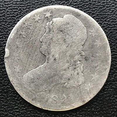 1821 Capped Bust Half Dollar 50c Circulated #16937