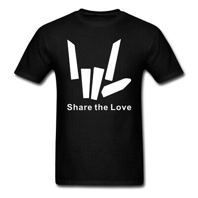 Share The Love Youtube boys girls children kids T Shirt Mens Short Sleeve Tee