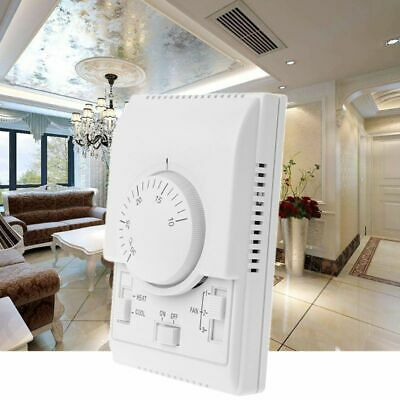 SOLAR & AC Attic Cooling Fan Thermostat Auto On / Off