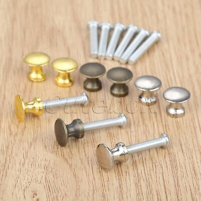 5Pcs Jewelry Chest Case Box Small Handles Cabinet Drawer Pull Door Knobs 12*11mm