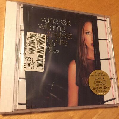 VANESSA WILLIAMS - Greatest Hits The First Ten Years CD BRAND NEW FACTORY SEALED