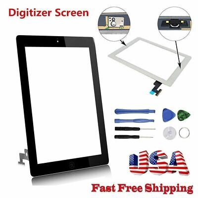 OEM For iPad 2 3 4 Air Mini 1 2 Touch Screen Digitizer Replacement w/ Adhesive